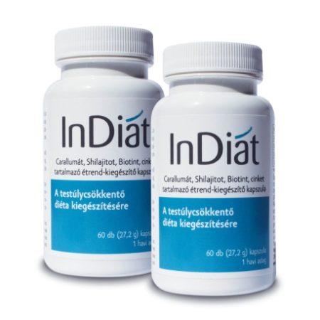 InDiat® fogyókúrás étrend-kiegészítő 2x60 db