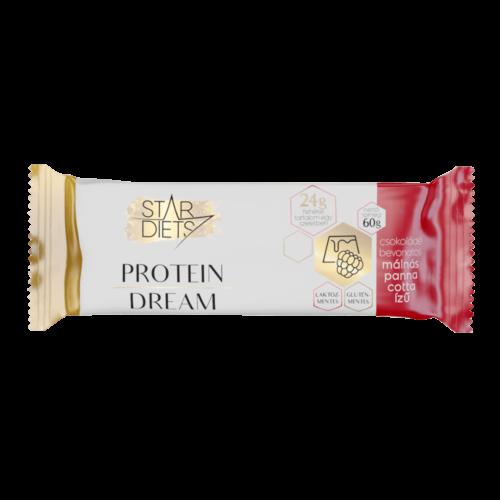 <span>StarDiets Protein Dream</span> fehérjeszelet – málnás panna cotta ízű